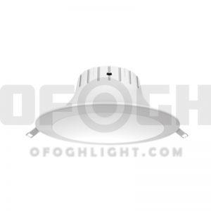 چراغ ال ای دی سقفی IP دار توکار افق