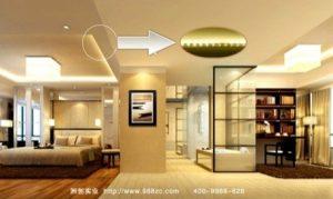 نورپردازی غیر مستقیم -ریسه های LED افق