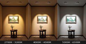 مقایسه انواع نور ها