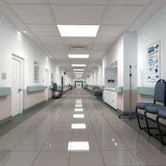 استفاده از نور سفید در بیمارستانها