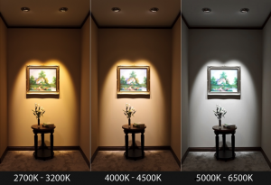 انتخاب دمای نور براساس مهندسی نور