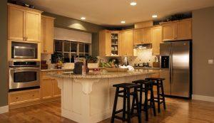 استفاده از هالوژن ها برای نورپردازی آشپزخانه
