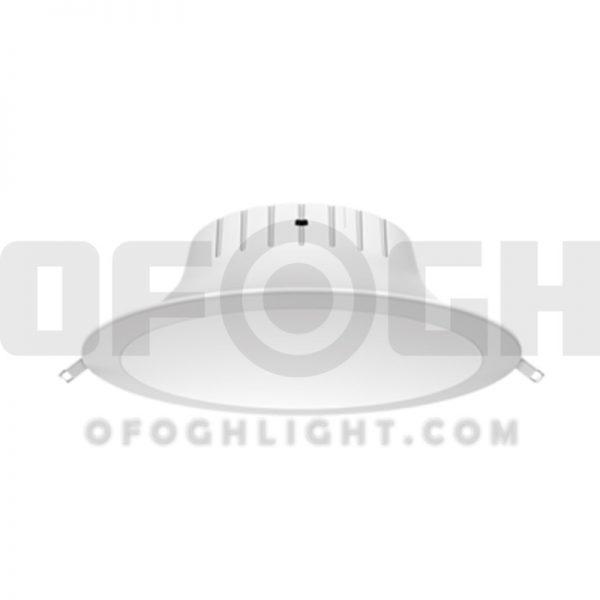 لامپ اس ام دی SMD سقفی آی پی دار IP44 توکار 22 وات افق