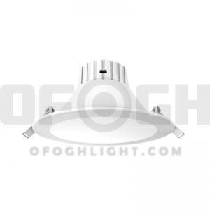 چراغ اس ام دی سقفی آی پی دار IP44 توکار 7 وات افق