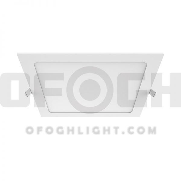 چراغ ال ای دی LED توکار مربع 18 وات