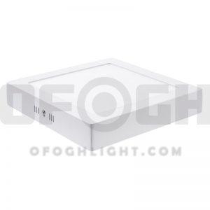 چراغ ال ای دی LED روکار مربع افق 24 وات